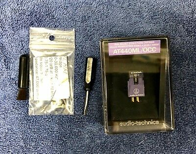 Audio-Technica AT440ML/OCC cartridge and stylus in box