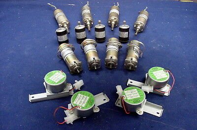 Blowout Selection Lot Of 16 Made For U.s. Military Dc Motors/gearmotors, More !