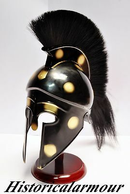 NEW Greek Corinthian Armor Spartan Warrior Helmet SAC COSTUME UNIQUE ON EBAY""