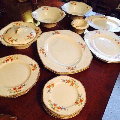 Joblot Of Alfred Meakin Marigold Princess Shape Crockery - 17 Items
