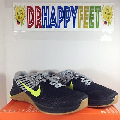 8dc87d85ded93 Nike Metcon DSX Flyknit Mens SIZES Weightlifting Crossfit Volt Black 852930  003