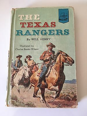 The Texas Rangers by Will Henry 1st Printing Landmark Books 1957 Americana