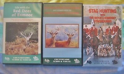 Hunting Videos x 3 - Stag Hunting on Exmoor from Countryside Audio & Visual