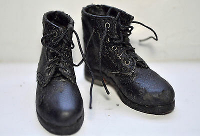 1/6 Scale Did German Wwii - Black Boots Short