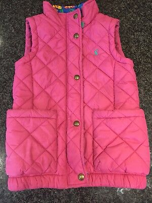 Joules Girls Gilet Age 7