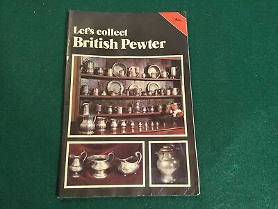 Antique British Pewter Guide Book