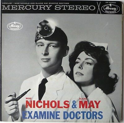 Mike Nichols Elaine Examine Doctors May Improv Comedy Mercury Lp