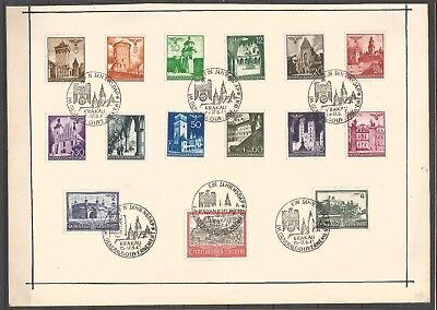 Poland, Generalgouvernement, Stamps On The Card