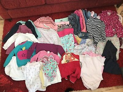 Girls 2-3 Years Job Lot Clothes Winter Bundle! In Next. Trousers, Tops, Dresses