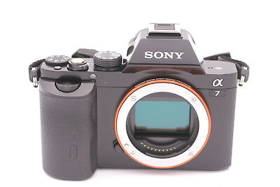 Sony Alpha 7 A7 24.3MP 3''Screen Digital SLR Camera Shutter Count: 9- body only