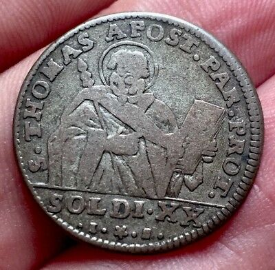 Italy 20 Soldi 1794 K Date!!