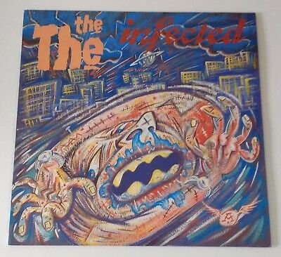 The The - 'infected' vinyl LP with lyric inner