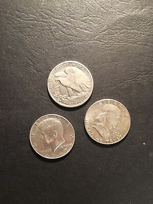 3 Pieces Argent / Silver USA