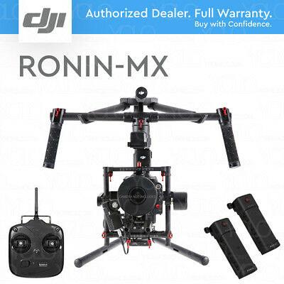 DJI RONIN-MX 3-Axis Handheld Gimbal Stabilizer. 2 Batteries