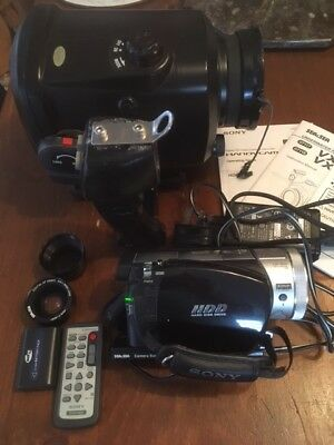 Scuba Diving Sea and Sea Vx-S2 Underwater Video housing and Sony HDR Camcorder
