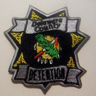 "Delaware County Oklahoma Detention 3"" Patch Unused"