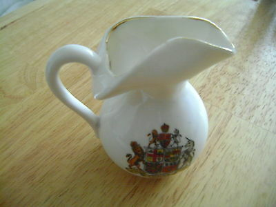 China Jug With Silloth Crest By Gemma China