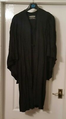 Vintage Academic Lawyers Teachers Gown AE Clothier fancy dress Halloween