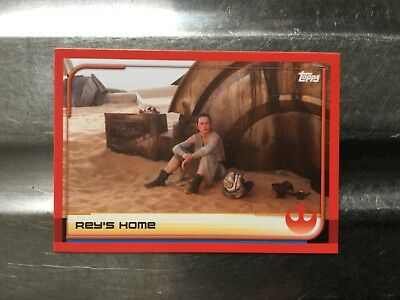 Journey To Star Wars: The Last Jedi Trading Cards Individual Card No.3