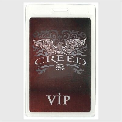 Creed authentic 2000's concert tour Laminated Backstage Pass tremonti VIP