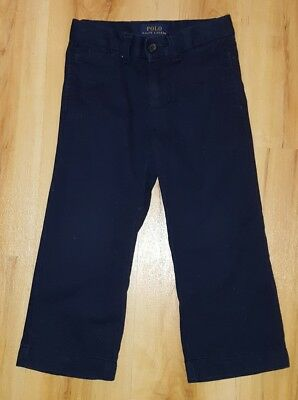 Ralph Lauren Boys Navy Blue Trousers. Age 2-3 years