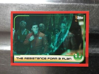 Journey To Star Wars: The Last Jedi Trading Cards Individual Card No.24