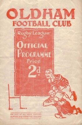 Rugby League Programme