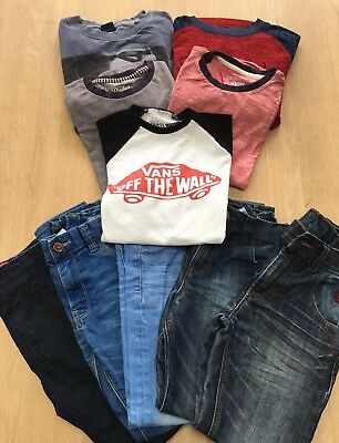 Trendy Boys Bundle Age 7/8 Years Next, Vans, O'Neill. Excellent condition