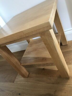 Lamp Table - Solid Wood