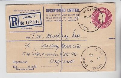 Gb Stamps 1950 Oxford Show Souvenir Cover From Royal Show Collection