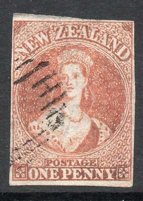 N.Z.1862/4 1d. SG 33 Excellent Quality V. Fine Used Stamp Sound No Hidden Faults