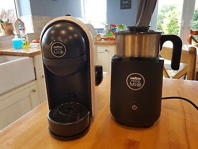 lavazza minu coffee machine and milk frother/heater