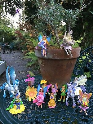 Fairy Figures Unicorn Or Garden Faries Or Play In Doors Kids Toys And Pixies
