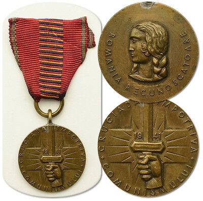 WW2 ROMANIA German medal; order Crusade Against Communism 1941 East Front Russia