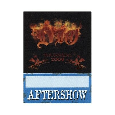 Dio authentic Aftershow 2009 tour Backstage Pass