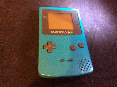 Nintendo Game Boy Color Turquoise Blue Console
