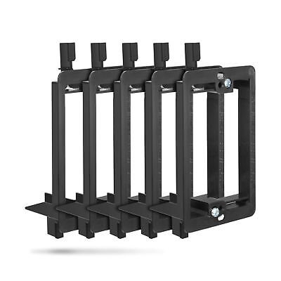 Wall Plate Mounting Bracket Fosmon [5 Pack] 1-Gang Low Voltage Wall Plate Mou...