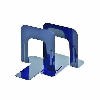 Steelmaster Soho Collection Economy Steel 5 Inch Bookends 1 Pair Cobalt Blue ...