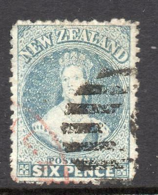 N.Z. 1871-73  6d  SG 136 Fine Used Good Sound Collectable Stamp No Hidden Faults