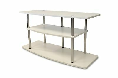 Convenience Concepts Designs-2-Go Wide 3-Tier TV Stand White