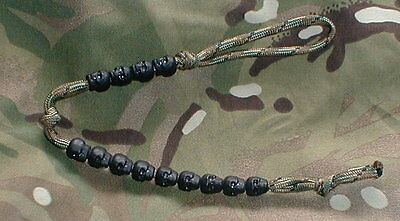 Tactical Ranger Pace Counter Beads on MTP Paracord - Airborne SAS SBS DEVGRU