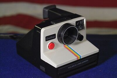 Polaroid SX-70 One Step Rainbow Perfect Battery Tested at all Speeds Working