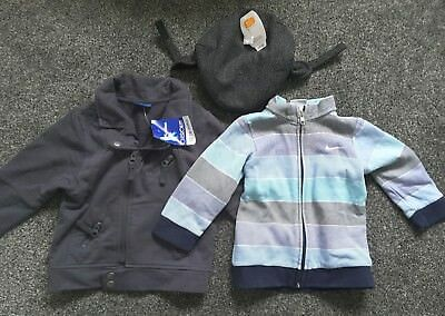 Baby Boy Clothes 12-18 months bundle jacket top hat Nike Cherokee bnwt