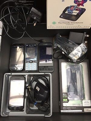 mobile phone Lot sony, LG Smart Phone, Sony Ericsson, T-Mobile, iPhone Juicepack