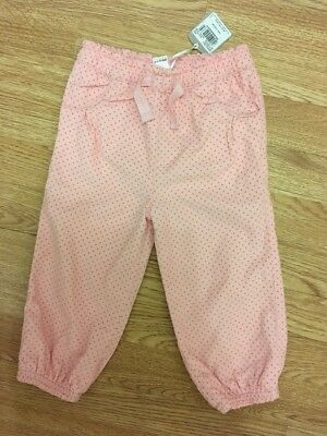 Tu Baby Girls Pin Cord Spotty Trousers With Lining 18-24 Months Bnwt
