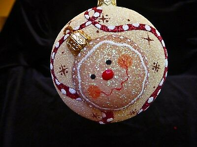 Breen ornament MEDALLION GINGERBREAD - MILEAGERS EVENT GIFT
