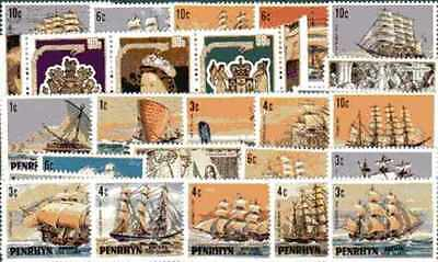 Penrhyn 100 timbres différents
