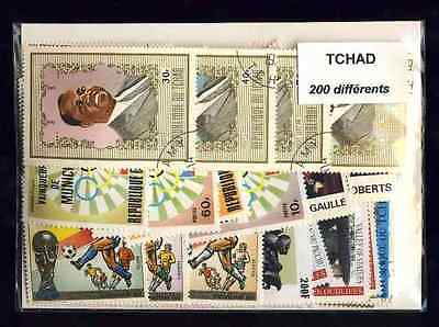 Tchad - Chad 200 timbres différents