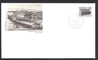 Canada    #  928     Settle Bed       New 1985 Unaddressed