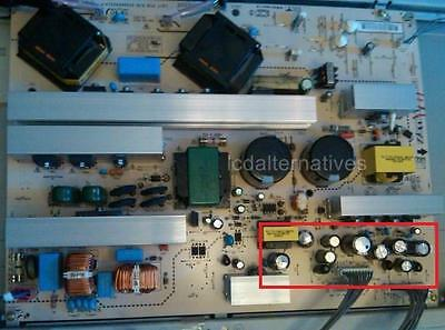 Repair Kit, LG 47LC7DF, LCD TV, Capacitors